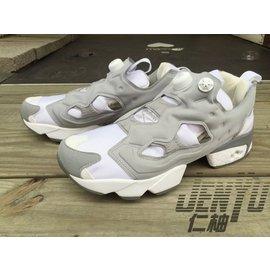 REEBOK INSTAPUMP FURY OG M48560 灰白 充氣 慢跑鞋 男女鞋