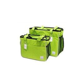 寵駿~ 寵物外出包全封閉寵物拎包貓包狗包寵物袋 包 泰迪外出背包 綠色~拎包 ~大型
