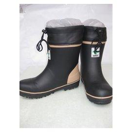 中低筒男士男式防砸鋼包頭橡膠安全保暖雨鞋雨靴水鞋套鞋