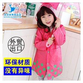 外貿原單Smally兒童雨衣雨鞋男童女童公主寶寶卡通幼兒韓國小童