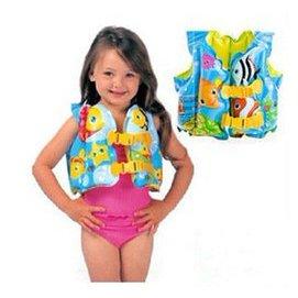 2 3 4 5 6歲男女孩 可愛充氣遊泳背心幼兒童寶寶救生衣遊泳圈