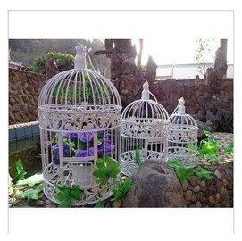 歐式鐵藝鳥籠 婚慶裝飾 櫥窗裝飾鳥籠拍攝道具婚紗道具 鳥籠店面裝飾場地擺設