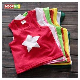 寶寶內衣汗衫1~2~3歲男童女童小背心夏裝 嬰兒童無袖t恤衫