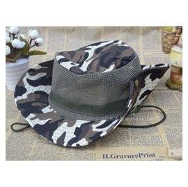 全國包郵戶外男女 迷彩帽子遮陽帽太陽帽圓頂軍帽子特種兵漁夫帽