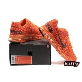 NIKE AIR MAX KPU高頻透氣跑步鞋 男款 橘色
