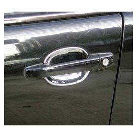 金螃蟹 賓士 BENZ SLK ~ R170 96~04 系列 鍍鉻 車門把手內襯 SLK