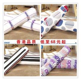 香港 糖果型圓形纖維枕頭 純棉長條護頸枕 攬枕枕芯單雙人