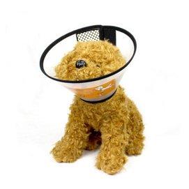 寵物防護罩伊麗莎白圈 貓狗美容罩頭套防舔防咬圈洗澡項圈 脖圈保護套 1號 大號