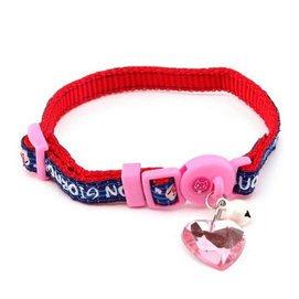多格漫貓用項圈 寵物脖套 帶鈴鐺銘牌貓頸圈脖套 貓項圈 糖果