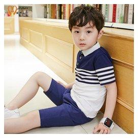 男童套裝夏裝2016 兒童短袖兩件套中大童 衣服5~10~12~15歲