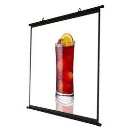 kamas卡瑪斯 80吋4:3壁掛席白簡易型投影布幕 可攜式投影機銀幕 投影布幕