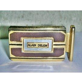 aaL皮. ALAIN DELON牌子鍍金合金皮帶頭^!^!~~ 給需要的人^! ^~2