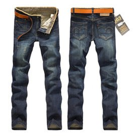 班尼路傑克男士牛仔褲男瓊斯以會藍色為主男裝 男褲子修身直筒