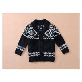 外貿 男童女童 中大童加厚毛衣 線衫針織衫開衫