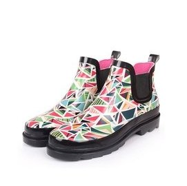 Trend2016 夜雨 雨鞋女短筒雨靴女中筒女士水鞋學生膠鞋套鞋