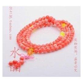 廠價直銷 極品紅紋石佛珠手鏈 108佛珠手鏈 紅紋石 美容 紅寶石