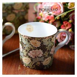 妙HOME英國William Morris大師百年 古典 高檔骨瓷茶杯子菊