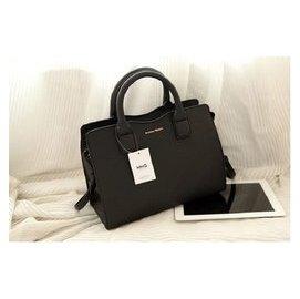 MANGO 女包 MNG 2014 款 大像紋簡約公文包單肩斜 包手提包