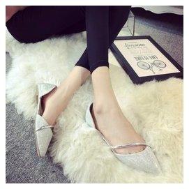 尖頭平底包頭涼鞋女夏平跟 學生韓國套腳簡約百搭 女鞋