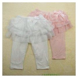 專櫃正品 巴拉巴拉女童夏款褲子 兒童純棉打底褲七分褲裙褲