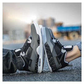 春夏 4代籃球鞋男鞋女鞋氣墊鞋戰靴奧利奧跑步鞋情侶 鞋