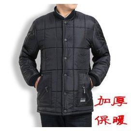 中老年人男士加厚棉襖中年男裝棉衣鼕裝外套大碼爸爸裝保暖厚棉服