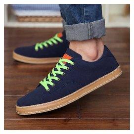 英倫風 男鞋子潮鞋 板鞋男士 鞋反絨皮鞋潮流帆船鞋