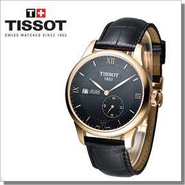 ^~天梭 TISSOT Le Locle 立洛克小秒針機械錶 T006