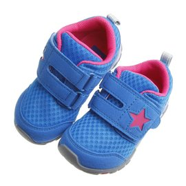童鞋  Moonstar Carrot湛藍之星透氣止滑 機能鞋^(15^~20公分^) I