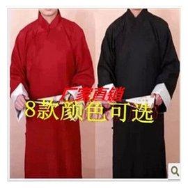 20 16 男士傳統長袍舞台演出相聲服民國五四灘長衫中式盤扣