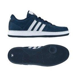 五月購  5 阿迪達斯 七折 籃球 男子 場下款籃球鞋 學院藏青藍