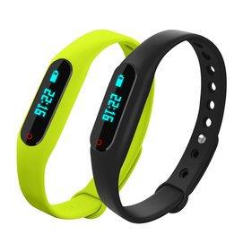 韓國智能手環觸屏學生手表男計步藍牙 跑步防水電子表潮流女表