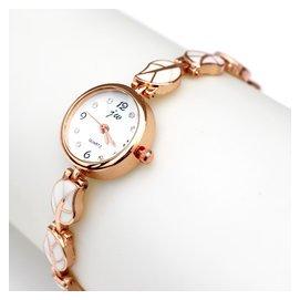 ~ ~女士手鏈表初高中學生手表女孩電子表防水鑽石英腕表