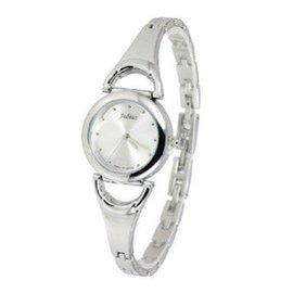 聚利時 潮流鋼帶手鏈表 個簡約復古表盤 氣質女式手表 ~657 白色