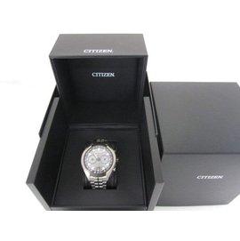 ~ ~CITIZEN CC1054~56E AIR 光動能 衛星對時腕錶^(黑 49mm^