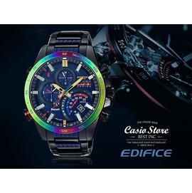 ~ ~~ 聯名~EDIFICE 藍芽智慧錶款 EQB~500RBB~2ADR 紅牛 EQB