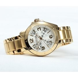 COACH 14501779 女士高貴氣質手錶 防水女錶 鋼帶錶 正品