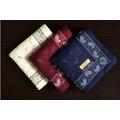 制 男士大手帕手絹 簡潔純棉 男士用 薄款超軟 商務手帕 花紋 對象: 男 女