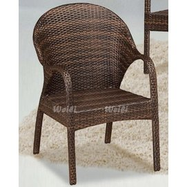 6X~新北蘆洲^~偉利傢俱~643單人籐休閒椅^(單^)~編號 ^( X122~2 ^)
