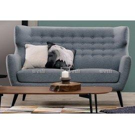 6E~新北蘆洲^~偉利傢俱~卡洛琳休閒沙發雙人椅~編號(E215~5)~ ing~