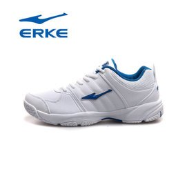 鴻星爾克正品男網球鞋 減震防滑耐磨男 訓練輕透氣便網球鞋FD