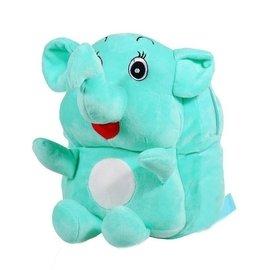 蘇迪曼 兒童背包 大象毛絨玩具布娃娃書包A1
