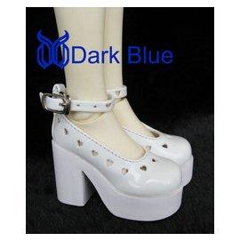 女款BJD SD娃娃鞋子 DOD LUTS DZ 等娃用小高跟皮鞋~~SH02