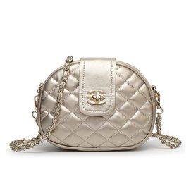 2015 羊皮紋鎖扣包包女包小圓包鏈條單肩包斜 包潮