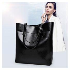 2016 牛皮真皮女包手提包簡約單肩包托特包 袋大包包潮