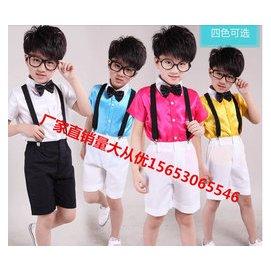 兒童六一演出服裝幼兒小學生舞蹈服夏男童花童禮服少兒表演合唱服