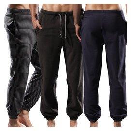 男士保暖 褲抓絨 長褲子寬松直筒滑板褲 搖粒絨衛褲男