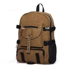 ~包攬天下~雙肩包男 帆布包2016 大容量電腦包旅行背包休閒 潮包 HTT BLTX18