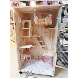 (8雜貨鋪)426豪華套餐Z1米龍貓籠子龍貓櫃籠,龍貓窩