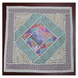 尼泊爾 珠繡靠墊套抱枕套沙發靠枕民族風情東南亞風格